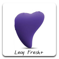 Leaf Fresh Plus: This little palm-sized vibe delivers a strong punch of pinpoint vibrations.