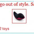 Sex Toys on Sale!