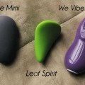 Left to Right: Je Joue Mimi, Leaf Spirit and We Vibe Touch. Three luxury, silicone vibrators with the same flaw