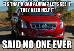 Car Alarms Are Annoying