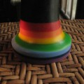 Rainbow G-Spot Dildo from BS