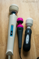 PalmPower Wand Massager Compared to Hitachi Magic Wand and Vibratex Mystic Wand
