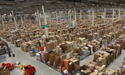 Amazon Warehouse (image courtesy of theguardian.com) - Why Buying Sex Toys from Amazon is a Risky Gamble