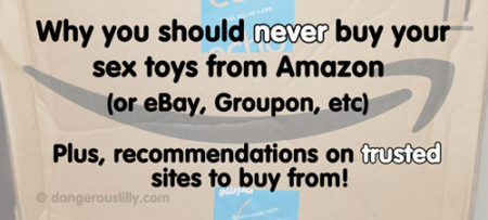 Why you should never buy sex toys from Amazon, eBay or Groupon